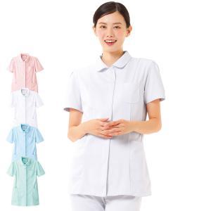 白衣 女性 ナースウェア 定番ジャケット(S/M/L/LL/3L/4L/5L)|nursery-y