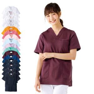 白衣 女性 ナースウェア 医療用 スクラブ マルチジャケット(S/M/L/LL/3L/4L/5L)|nursery-y