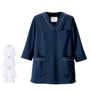 白衣 女性 ナースウェア マルチジャケット(7分袖) S〜3L|nursery-y