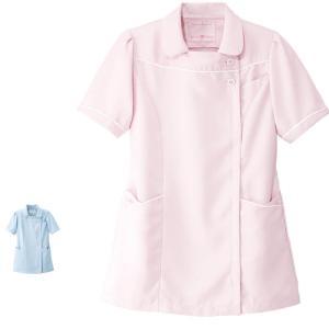 白衣 女性 看護師 ナースウェア 病院   マシュマロツイル ガーリッシュジャケット|nursery-y