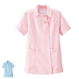 白衣 女性 看護師 ふわさらタッチ スタンダードジャケット(S/LL/3L) 病院|nursery-y