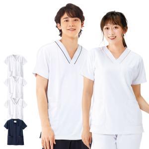 白衣 女性 男性 看護師 病院 スクラブ マルチジャケット(男女兼用)|nursery-y