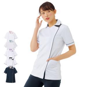 白衣 女性 病院 クリニック 看護師 介護 ライトジャケット|nursery-y