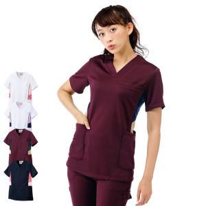 アメリカンスクラブ(Type3/アクティブストレッチ) 医療 ナース 看護 白衣 女性 nursery-y