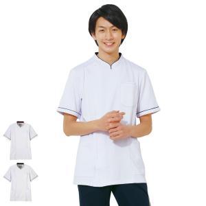 アクティブストレッチ ストレッチケーシージャケット2(メンズ) 医療 病院 ナース 看護 白衣 男性|nursery-y