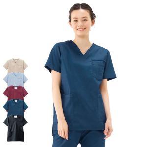 医療 ナース 看護 白衣 デニムスクラブ(男女兼用)(SS/S/M/L/LL/3L)|nursery-y