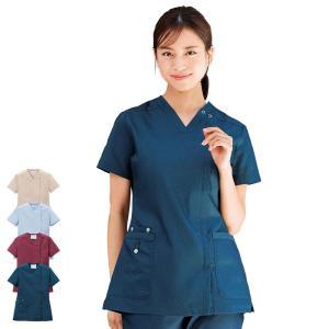 医療 ナース 看護 白衣 デニムスクラブ(オープン)(S/M/L/LL/3L)|nursery-y