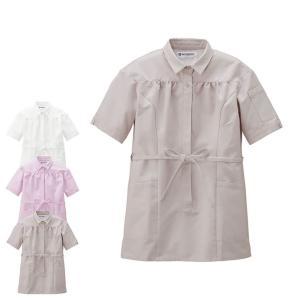 医療 ナース 看護 白衣 女性 コットンフィール チュニックシャツ|nursery-y