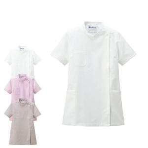 医療 ナース 看護 白衣 女性 コットンフィール ケーシーシャツ|nursery-y