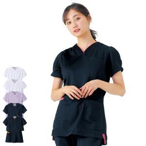 医療 ナース 看護 白衣 女性 マルチジャケット(フェミニン)|nursery-y