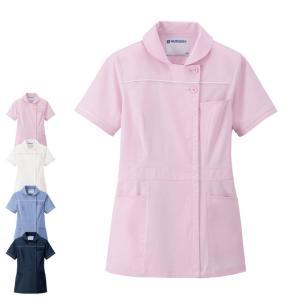 医療 ナース 看護 白衣 女性 超軽量ストレッチ ショールカラージャケット|nursery-y