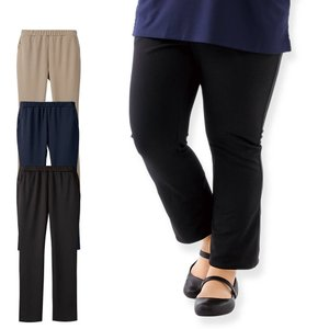 看護 介護 病院 保育士 ケア ヘルパー ユニフォーム ゆったり美脚パンツ(3L/4L/5L/6L)|nursery-y
