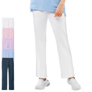 医療 看護 白衣 女性 涼しい ユニフォーム レディース 病院 アクティブストレッチクール イージーパンツ|nursery-y