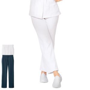医療 看護 白衣 女性 涼しい ユニフォーム レディース 病院 アクティブストレッチクール ストレートパンツ|nursery-y