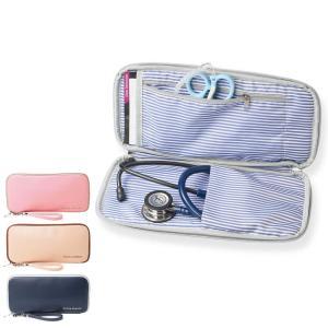 ナース 小物 グッズ 看護 医療 介護 ステート 聴診器 小物も入る聴診器ポーチ|nursery-y