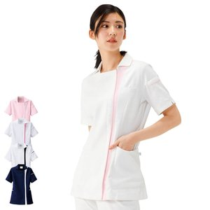 エールブラン エールスタイル レディスジャケット BT2202 医療 ナース 看護 白衣 女性|nursery-y