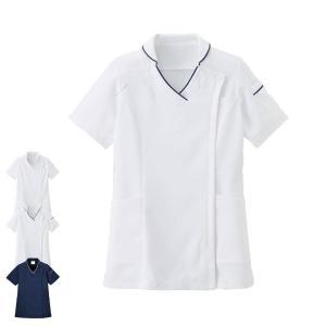 医療 ナース 看護 白衣 女性 エールスタイル ジャケット(BT2203)|nursery-y