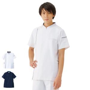 メンズジャケット BT2204 医療 病院 ナース 看護 白衣 男性|nursery-y