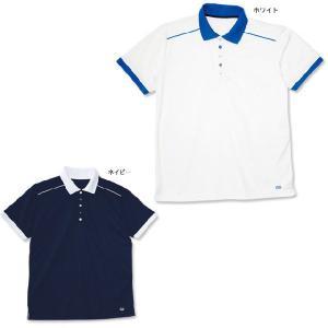 吸汗速乾メンズポロシャツ 看護 介護 ケア ヘルパー 医療  男性|nursery-y