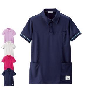看護 介護 病院 保育士 ケア ヘルパー ユニフォーム グレートバディ サイドポケットポロシャツ(Unisex)|nursery-y