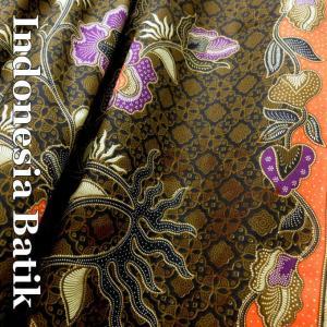 バティック−007 インドネシアのろうけつ染め アジアン雑貨 布 メール便OK nusa