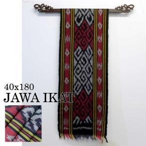 イカット アジアン 布織物 ジャワイカット40x180cm−001  nusa