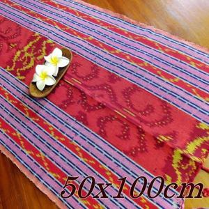 イカット ジャワイカット 50x100cm−009 アジアン雑貨 布織物 nusa