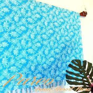 パレオ 大判 タヒチアン ダンス サラサ-081 アジアン雑貨 布 水着|nusa