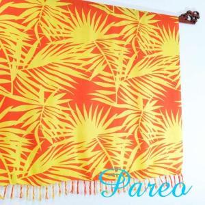 パレオ 大判 タヒチアン ダンス サラサ-088 アジアン雑貨 布 水着|nusa