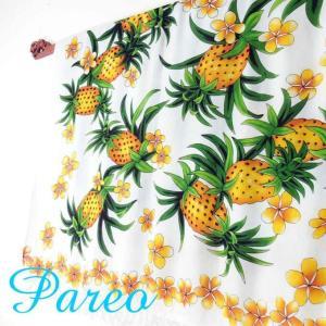パレオ 大判 タヒチアン ダンス サラサ-090 アジアン雑貨 布 水着|nusa