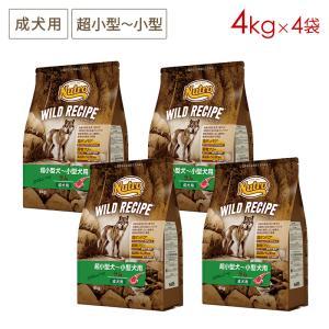 4袋セット送料無料(一部地域除く)(即日発送) [4kg×4袋] ニュートロ ワイルドレシピ 超小型...
