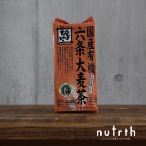 金沢大地 国産有機六条大麦茶 ティーバック 10g×40袋|nutrth