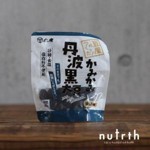 【無添加】虎産 かみかみ丹波黒大豆 40g|nutrth