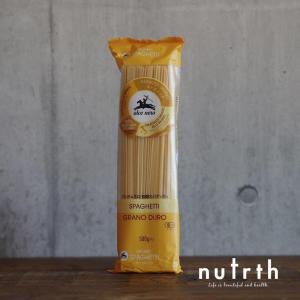 【無添加】アルチェネロ 有機スパゲティー1.6mm 500g|nutrth