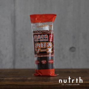 光食品 ヒカリ 関西風お好みソース 無添加 300g|nutrth