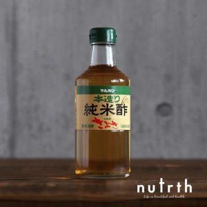純米酢 マルカン酢 本造り純米酢 きぶき 無添加 500ml|nutrth