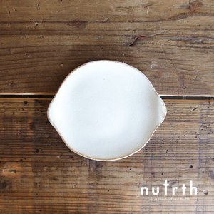 益子焼 わかさま陶芸 kinari小皿 ラウンド|nutrth