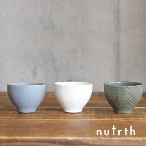 益子焼 わかさま陶芸 カップ大 ヘリボーン|nutrth