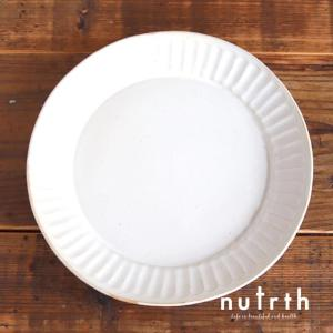 益子焼 わかさま陶芸 kinari鎬 ランチプレート|nutrth