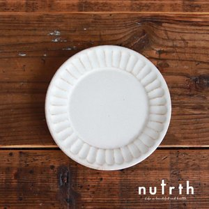 益子焼 わかさま陶芸 kinari鎬 パン皿|nutrth
