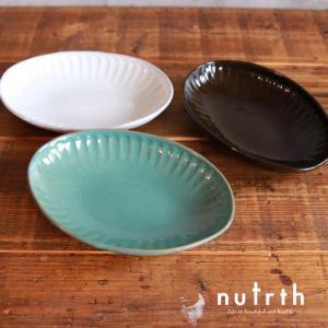 益子焼 わかさま陶芸 オリジンマシコ オーバル皿|nutrth