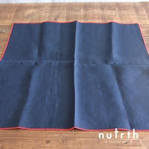 マルミツポテリ ヘリンボン#40(紺)テーブルナプキン|nutrth