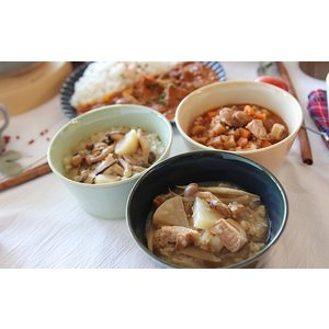 スープご飯 お粥×リゾット 無添加 レトルトスープ nutrth 和ゾット ごろごろ野菜のミネストローネ風 210g|nutrth|05