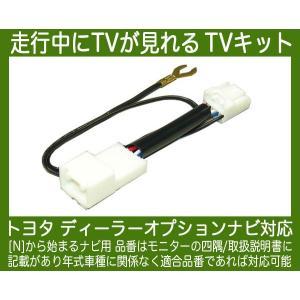 NSZT-W62G・NSLN-W62・NSCP-W62・走行中テレビが見れるTVキット/テレビキット|nuts-berry