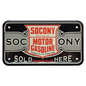 SOCONY MOTOR GASOLINE|nuts-berry
