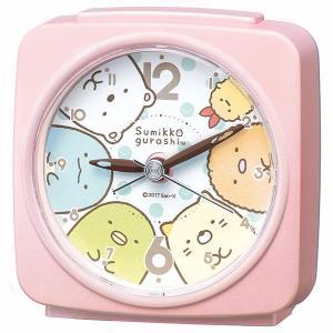 セイコー SEIKO すみっコぐらし 目覚まし時計 置き時計 CQ156P スイープ 静か 音がしない