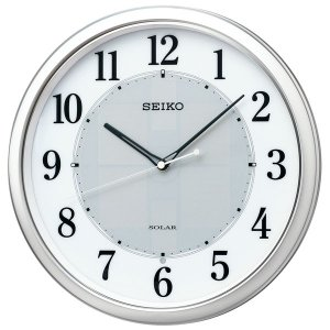 セイコー SEIKO 掛け時計 壁掛け SF243S 電波時計 ソーラー スイープ 静か 音がしない