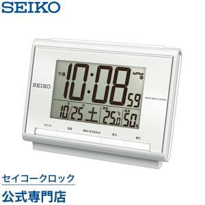 セイコー SEIKO 目覚まし時計 置き時計 SQ698S ...