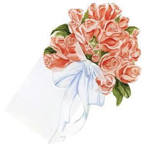 【20%OFF】【メール便対応商品 3点まで】 グリーティングカード 【バラの花束】 アメリカ製 正...
