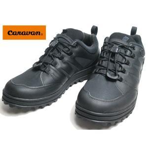 キャラバン Caravan SHC-34 ウォータープルーフ ウィンターブーツ ブラック メンズ 靴|nws